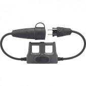 Árammérő adapter, mérésadapter lakatfogókhoz, banándugós csatlakozással Voltcraft DLA-16 1L