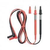 Multiméter mérőkábel, mérőzsinór készlet 10A/1000V-ig szigetelet, 4mm-es banándugóval 1m Benning 044145