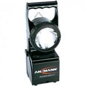 ANSMANN POWER LIGHT 5.1 xenon és LED izzós, ütésálló és vízálló akkus kézi lámpa, kézi fényszóró