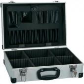 Alukoffer, üres műszertáska 430 x 295 x 132 mm Alutec 61000