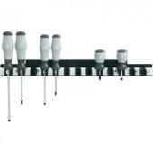 Csavarhúzó tartó alumínium léc, 435 mm x 48 mm, Toolcraft 886887