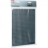 Fali lyuktábla szerszám tároláshoz, 278 mm x 194 mm x 12 mm 1 db,.Toolcraft