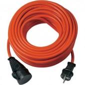 Kültéri hálózati hosszabbítókábel védőkupakkal, piros, 20 m, N05V3V3-F 3G 1,5 mm² , Brennenstuhl