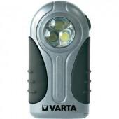 LED-es lapos lámpa, ezüst színű Varta 16647101421