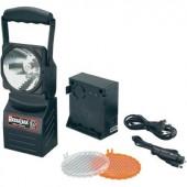 ACCULUX 12/24V/230V vízálló, porálló akkus műhelylámpa, autós vészlámpa, kézilámpa egyben