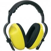 Fejpántos, kapszulás hallásvédő fültok, zajcsillapító fülvédő 27dB B-SAFETY ClassicLine BR332005