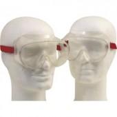 Munkavédelmi védőszemüveg, gumipántos, polikarbonát EN 166 Leipold + Döhle Standard 2660