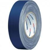 Téphető szövetbetétes ragasztószalag, gaffer tape 10 m x 19 mm, kék színű HellermannTyton HelaTape